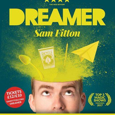 manchester magic show edinburgh fringe preview sam fitton dreamer