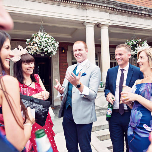 manchester wedding magician sam fitton amazes bride and groom at manchester wedding