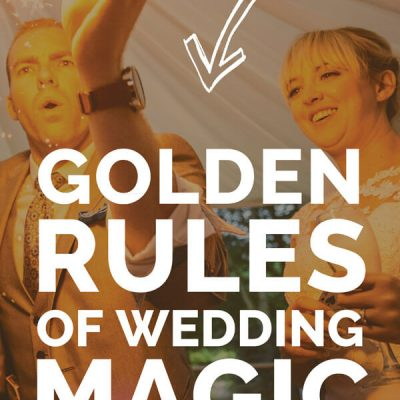 golden rules wedding magic book sam fitton