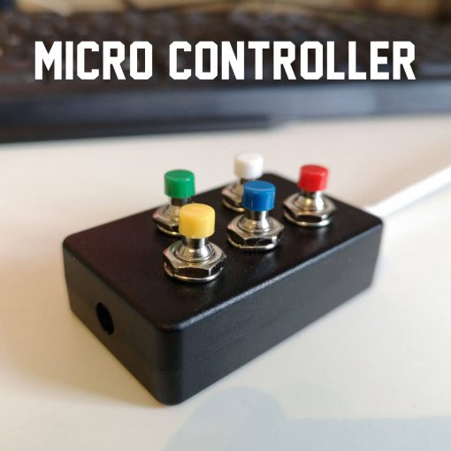 micro controller for zoom, facebook live and OBS